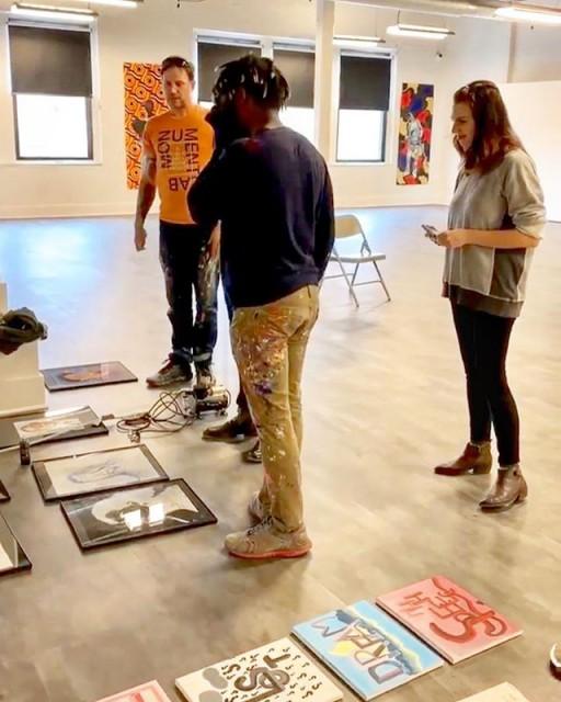 Mural Arts Student Art Show